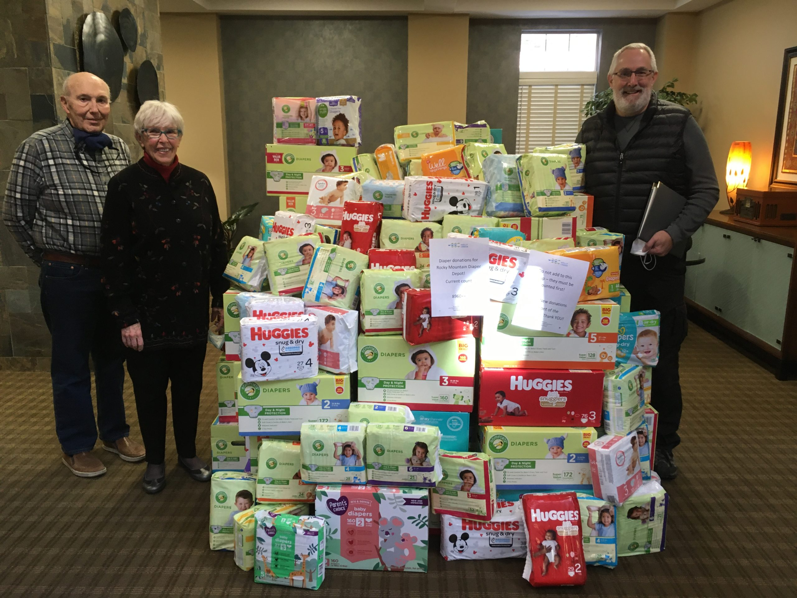 Holly Creek Diaper Donation Drive